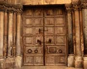 The Doors to the Church of the Holy Sepulchre